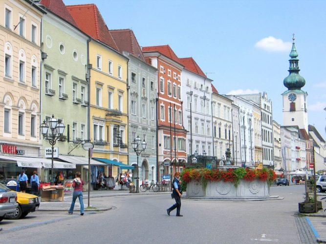 Австрийский город Вельс