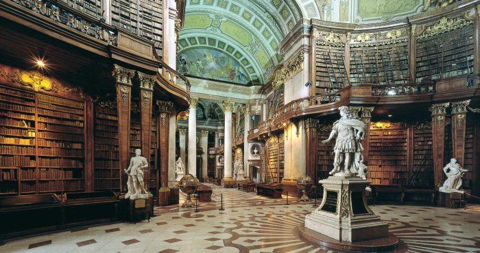 Австрийская библиотека в университете