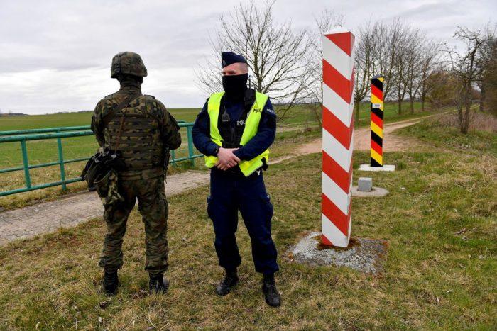 граница Германии закрыта