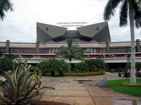 аэропорт в Гаване - столице Кубы