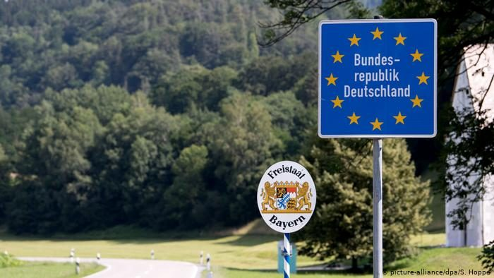 граница Германии