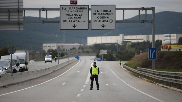 граница Испании