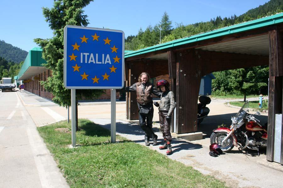 граница Италии закрыта для туристов