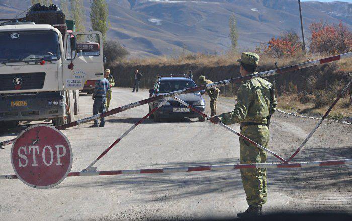 граница Таджикистана