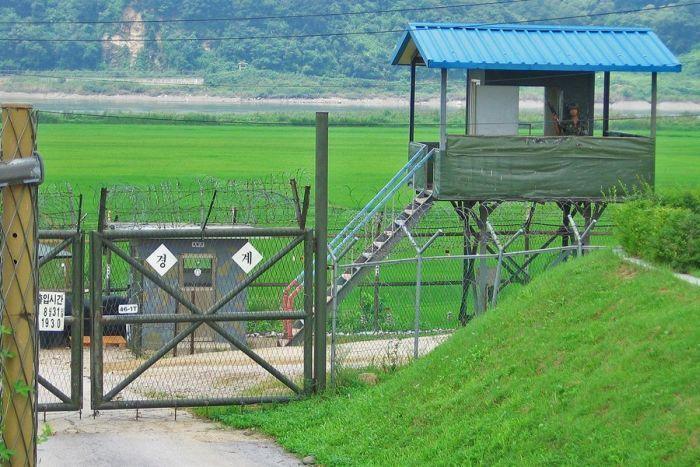 граница Южной Кореи