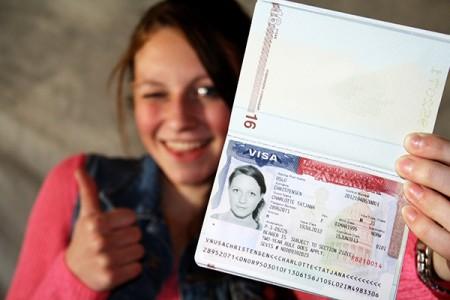 Оформление визы в США для украинцев