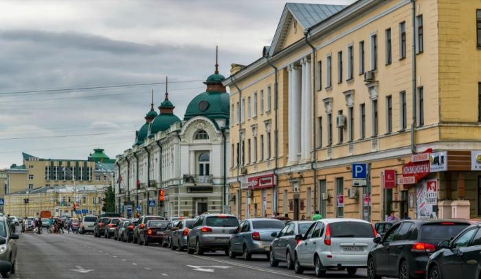 Улица в Тамбове
