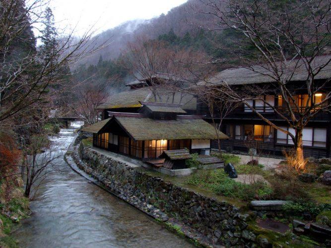 Гостиница Хоши Риокан
