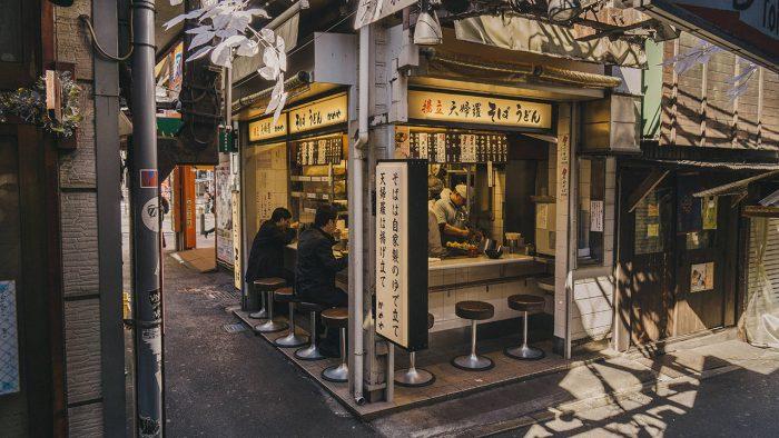Кафе в Токио