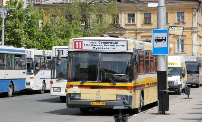 Общественный транспорт в Саратове