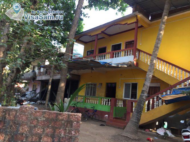 частный дом в Гоа