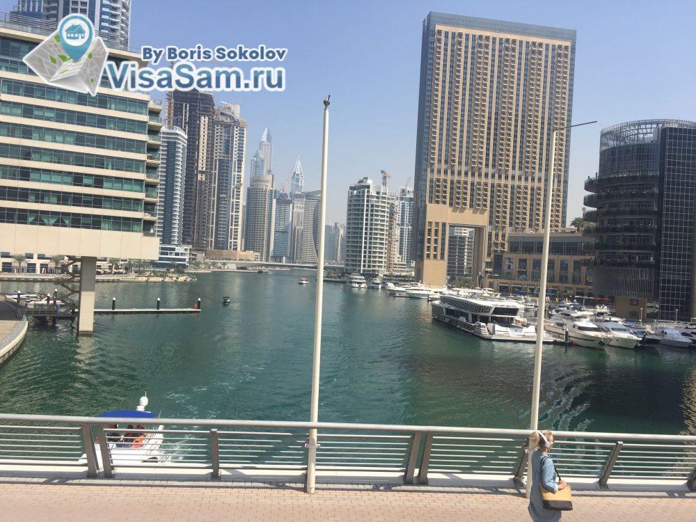 район Марина в Дубае