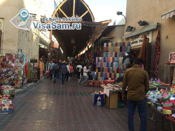 старый рынок в Дубаи