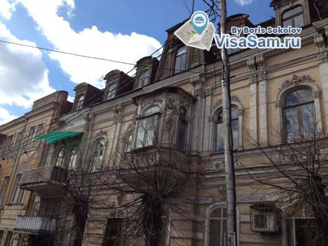 дома в центре Тбилиси