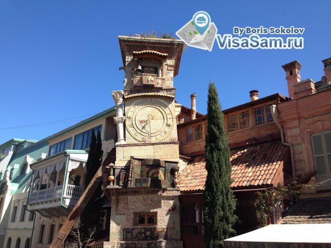 улица в исторической части Тбилиси