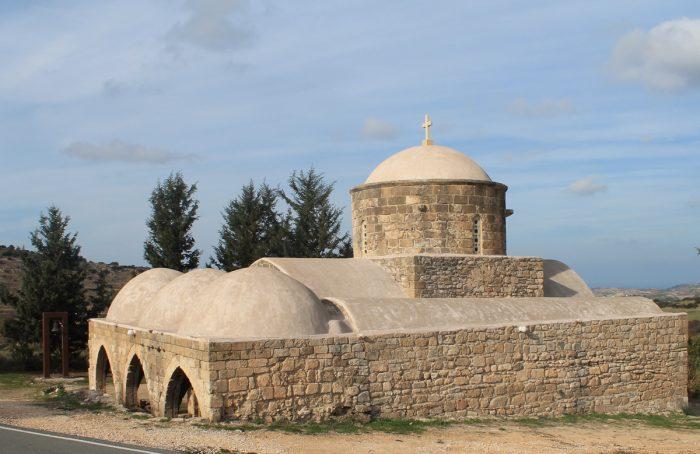 Храм св. Екатерины остров Кипр