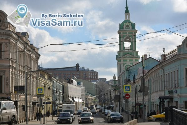 Улица Пятницкая