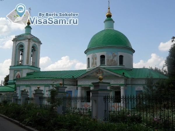 Храм, Воробьёвы горы