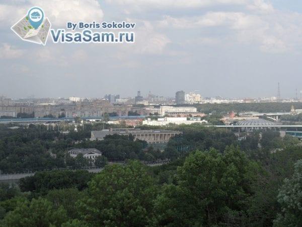 Воробьёвы горы Москва