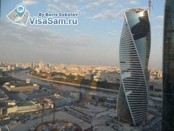 Москва-Сити, смотровая площадка