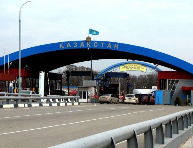 Въезд в Казахстан