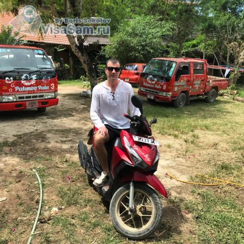 Аренда скутера на Занзибаре