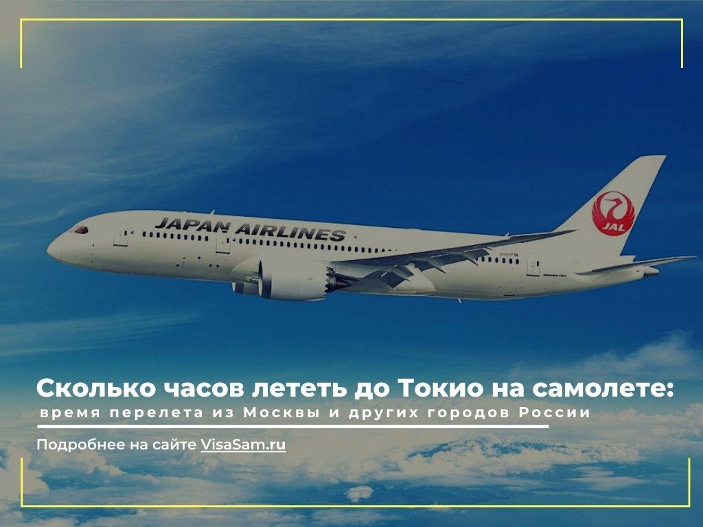 Сколько лететь до Токио на самолете: время перелёта из крупных российских городов