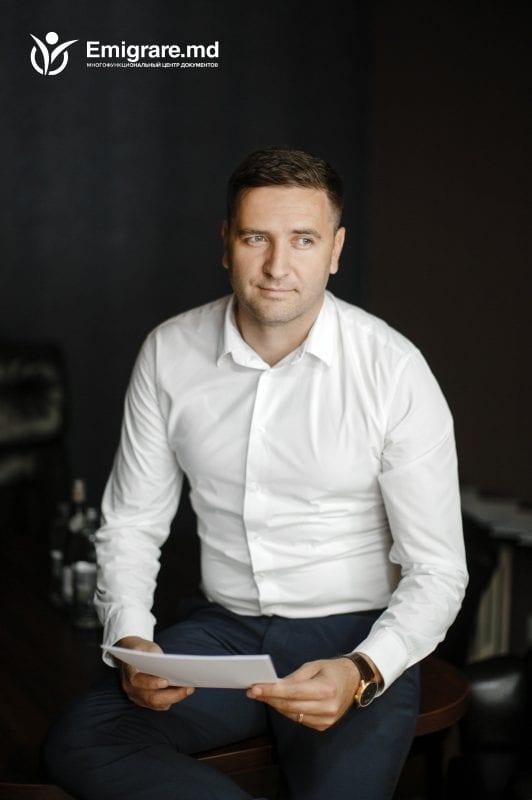 Виктор Окинчук - руководитель компании Emigrare