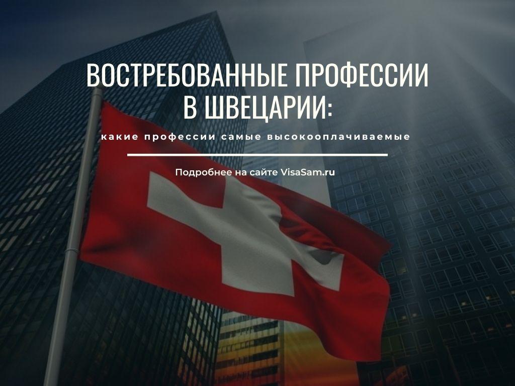 Востребованные и высокооплачиваемые профессии в Швейцарии
