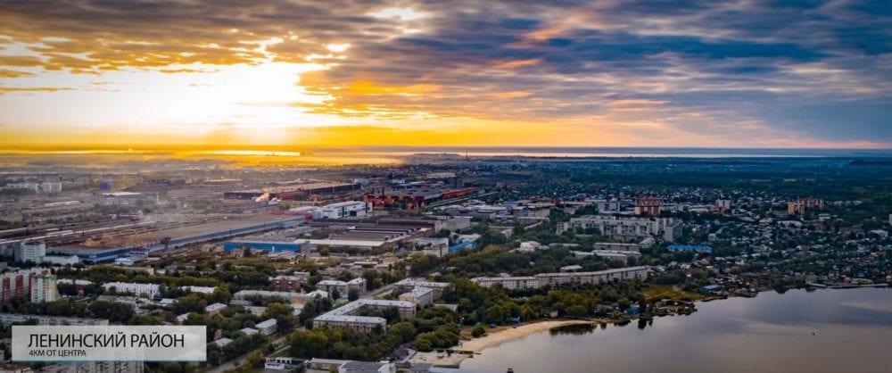 Ленинский район в Челябинске