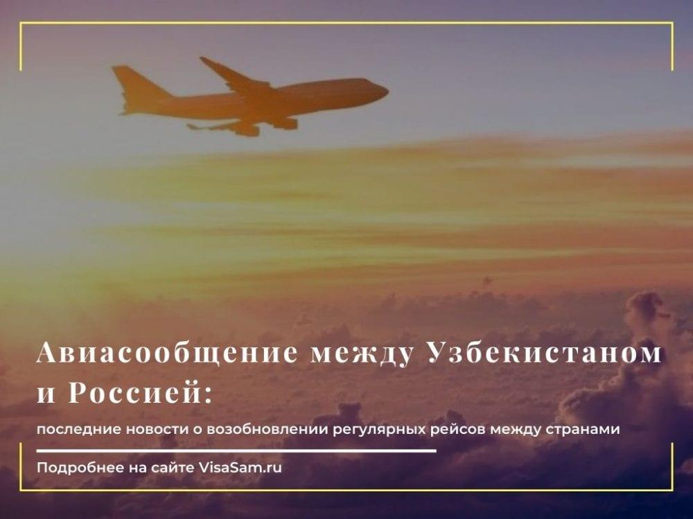 Россия открыла авиасообщение с Узбекистаном : последние новости от 26 марта