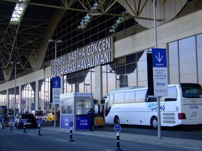 Такси у аэропорта Сабиха
