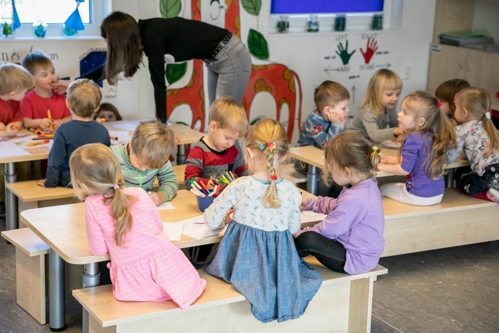 Садик в Эстонии