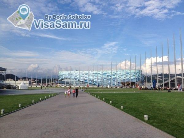"""Айсберг"" в Олимпийском парке"