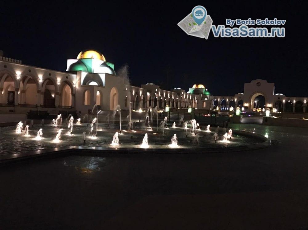 Поющие фонтаны в районе Сахл Хашиш