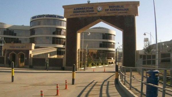 граница Азербайджана