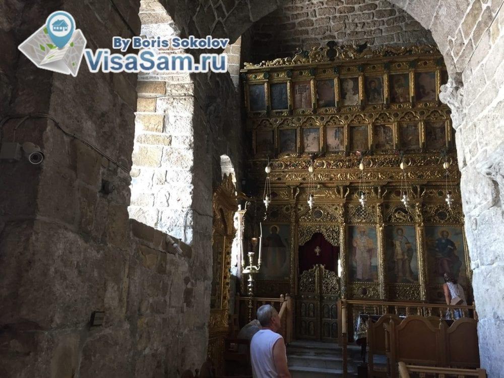 церковь Святого Лазаря внутри