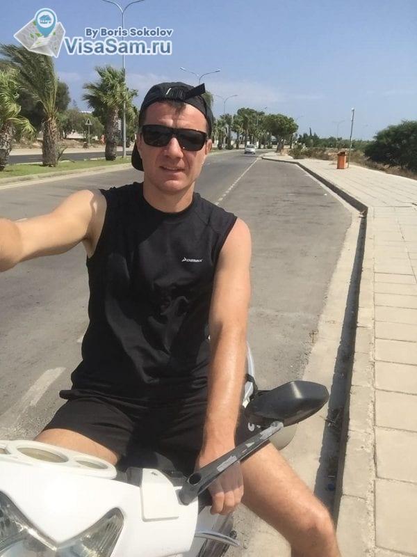 аренда скутера в Ларнаке