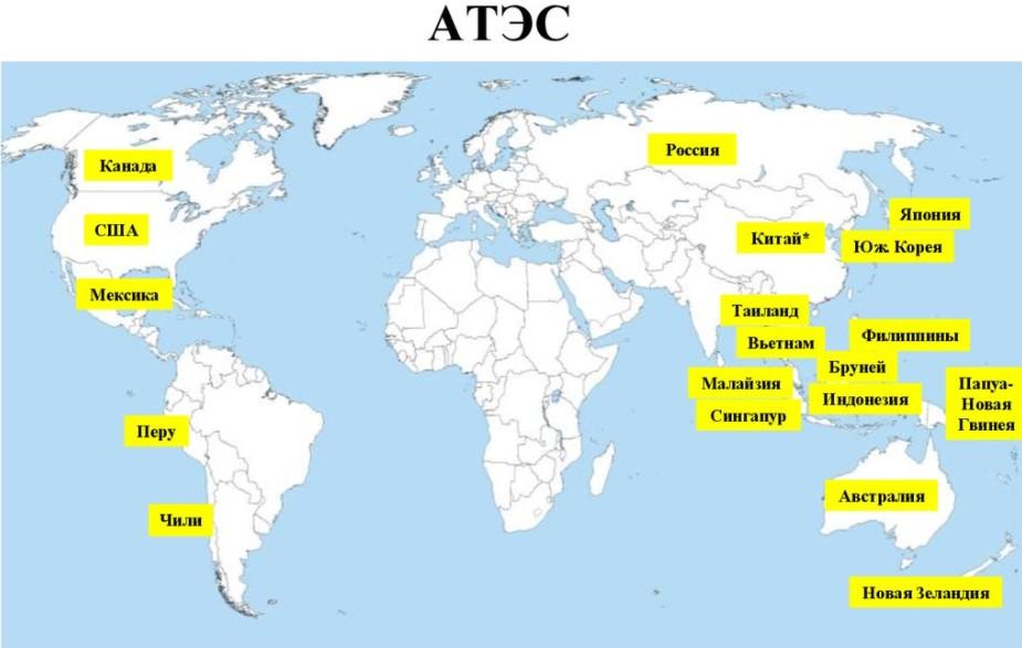Страны АТЭС