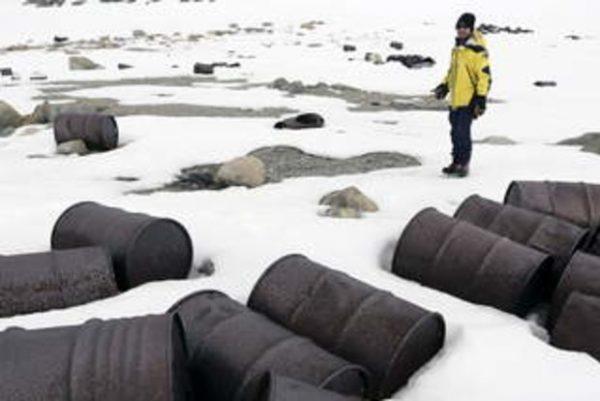 Работы по очистке Арктики
