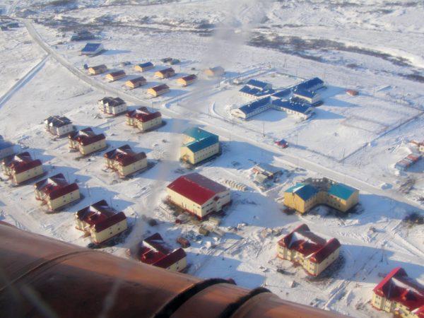 вахтовый поселок Верхние Теличики